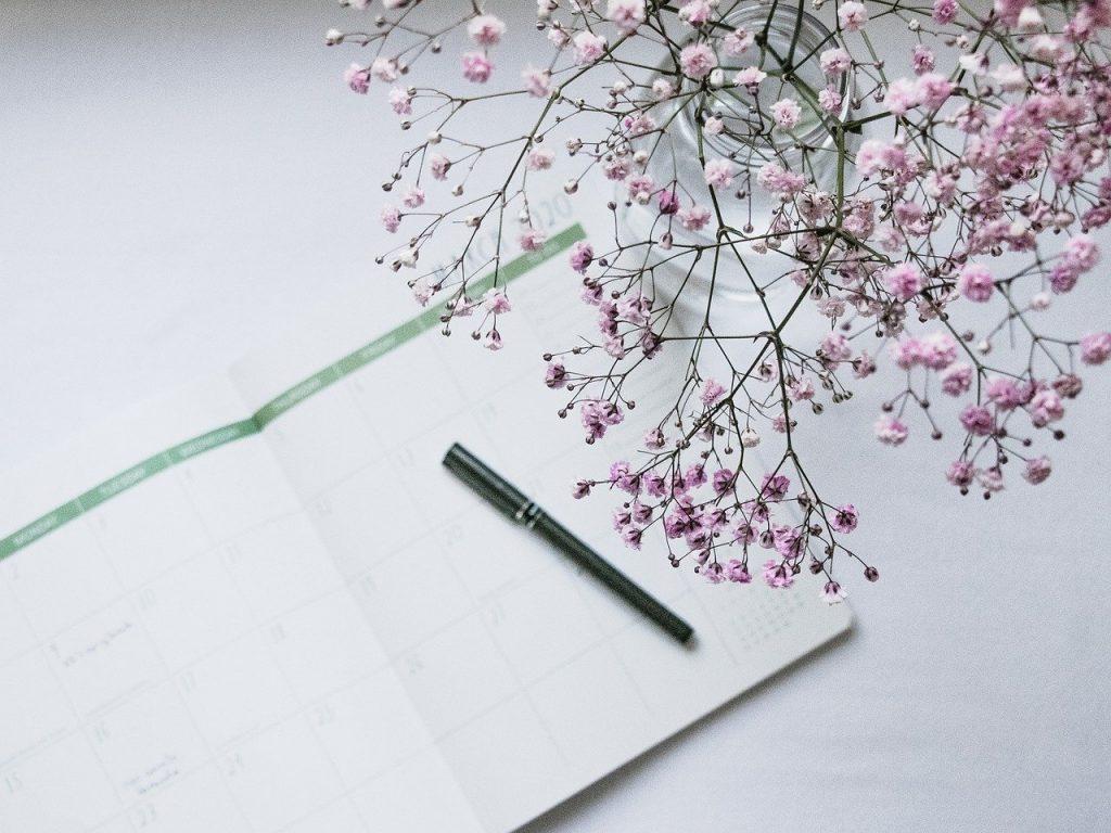 planner, march, calendar