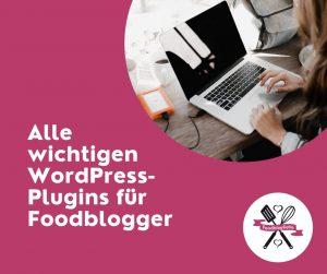 Alle wichtigen WordPress-Plugins für Foodblogger